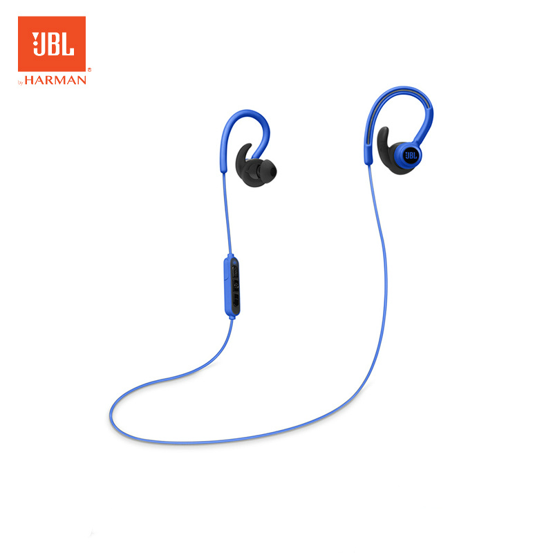 JBL Reflect Contour Wireless Headphone Bluetooth Earphone Sport Music Dynamic Earphone 8hour Battery Sweat Proof With Microphone jbl reflect contour black