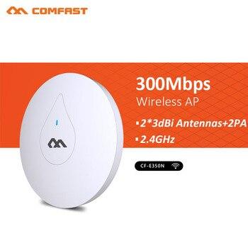 300Mbps Through Wall CF-E350N 2.4G Indoor access point Wireless wifi Ceiling AP Bridge Signal Amplie