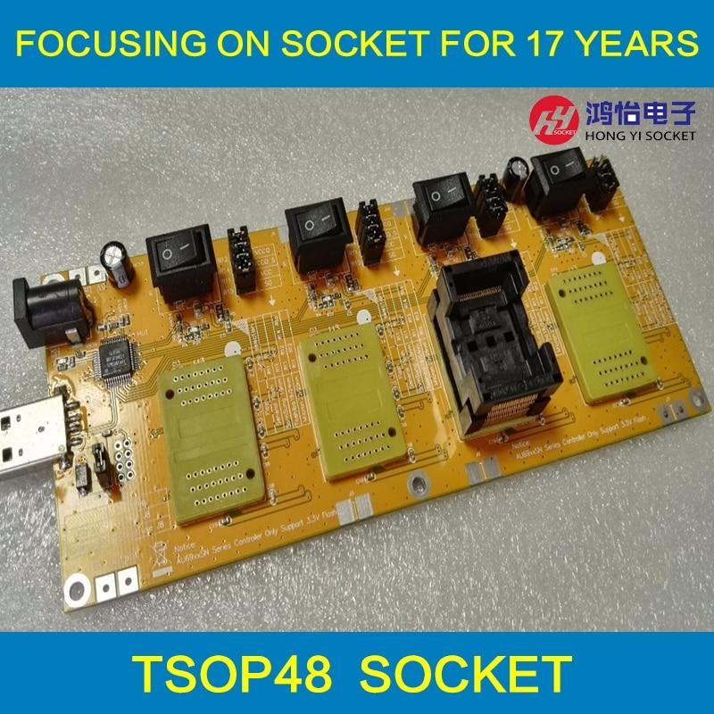 Flash Di Lotto Di Chip Tester Per Il Disc Di U Flash Chip Di Liquidazione Di Seconda Classe O Recyle BGA152 BGA132 BGA100 BGA88 LGA52 TSOP48