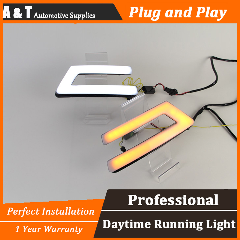A&T car styling For Ford FocusLED DRL For Focus High brightness guide LED DRL led fog lamps daytime running light Light guide for lexus rx gyl1 ggl15 agl10 450h awd 350 awd 2008 2013 car styling led fog lights high brightness fog lamps 1set