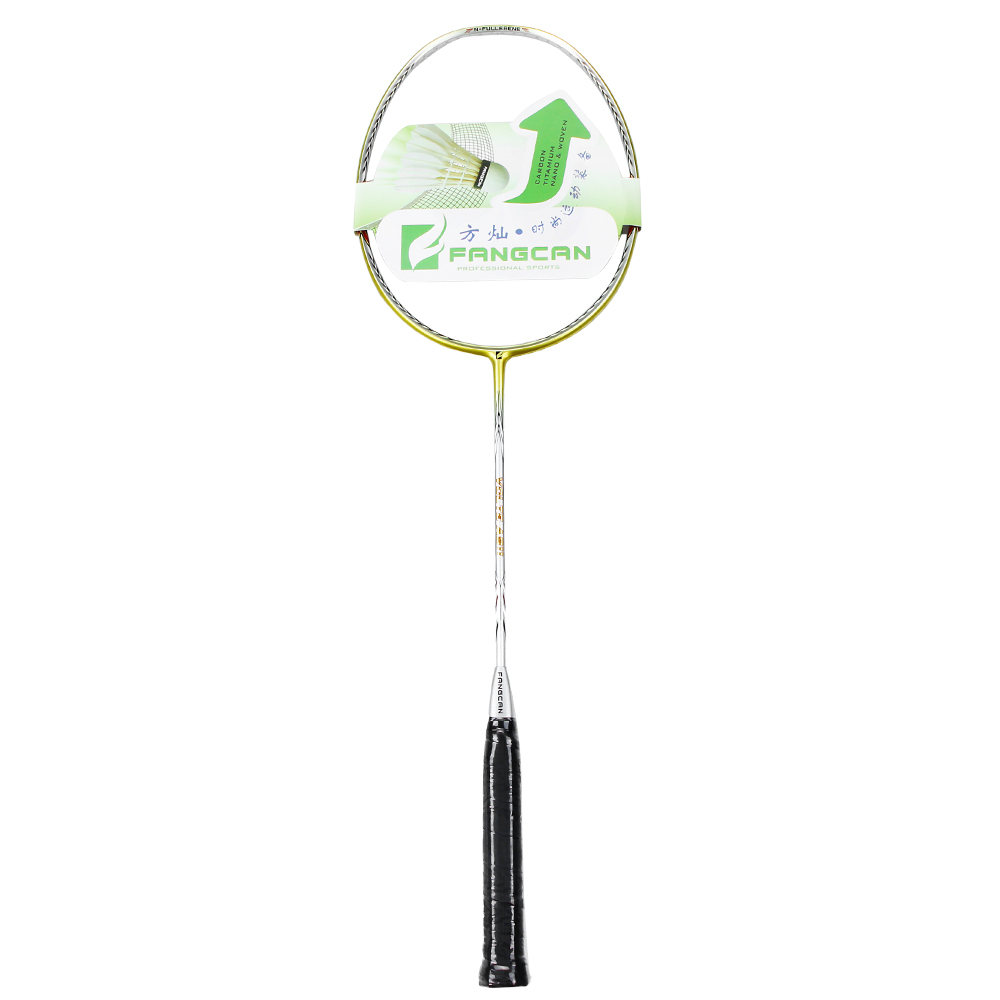 5pcs FANGCAN VOLTE A911 Light Weight Carbon Original Badminton Racket Heavy Head For Amateur Intermediate & Senior Players