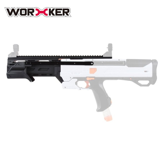 3D Printing Modularized No.196 Pull-down Kit Barrel Kit Suitable for Nerf Rival Phantom Corps Helios XVIII-700