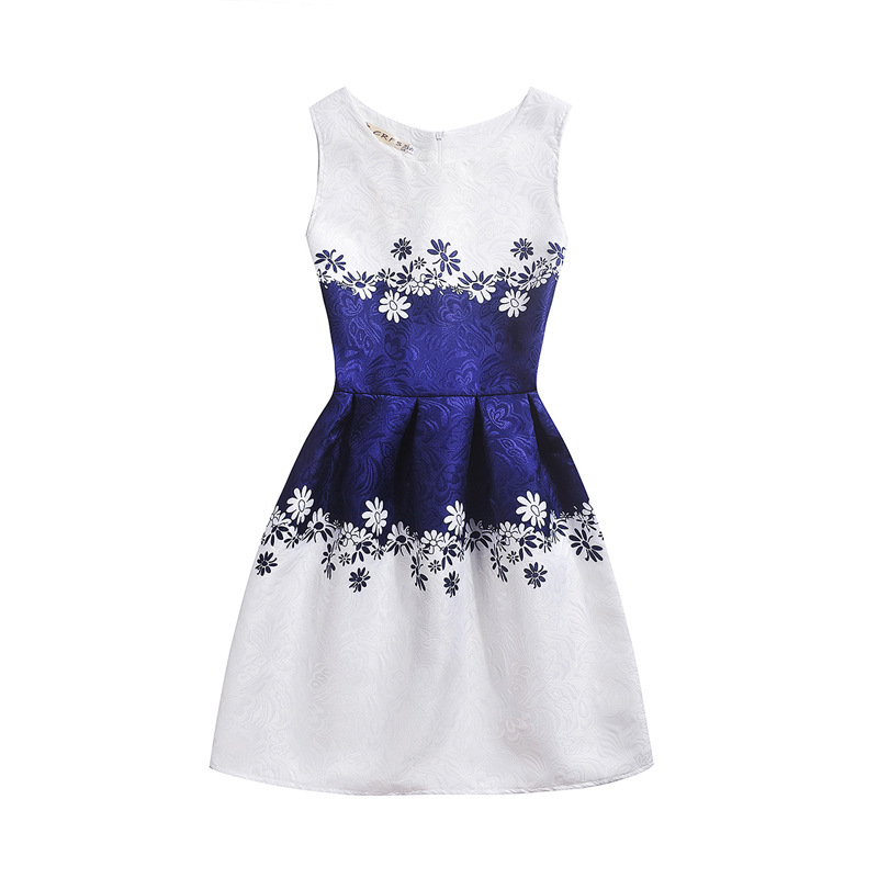 купить New Girls Vestido Baby Girls Festa Summer casual Dress Vintage Party Vestidos Plus Size Children's Clothing Bodycon Dress по цене 397.79 рублей
