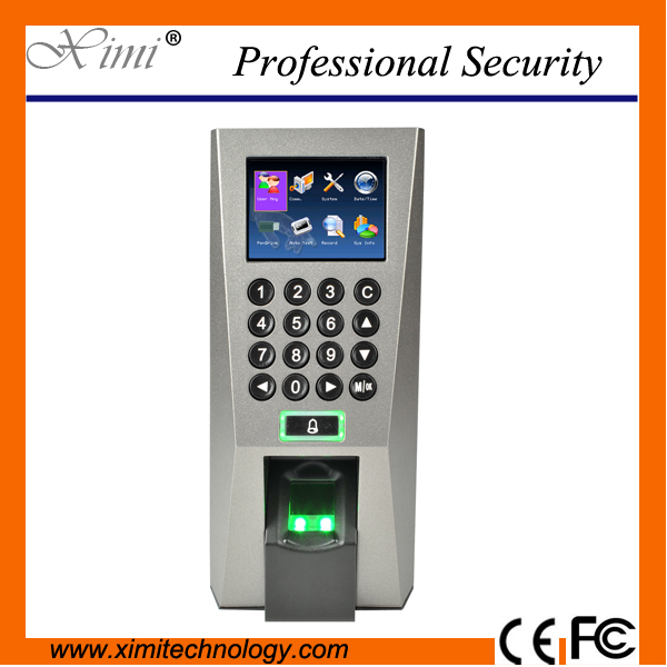 Popular access control TCP/IP network access controller kit Bolt Lock +12V3A power supply+Exit Button kit fingerprint door lock