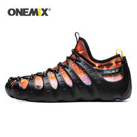 ONEMIX Unisex Casual Shoes Sneaker Big Size 2019 New Cool Comfortable Personality 1 Shoe 3 Wear Sandals Men Jogging Sports Shoes