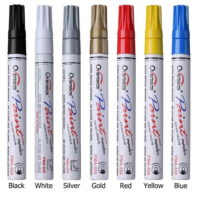 אוניברסלי מקצועי קסם תיקון סריטות רכב צמיגי צבע עט תיקון תיקון עט אוטומטי רכב אביזרי אופנוע שמנוני סמן