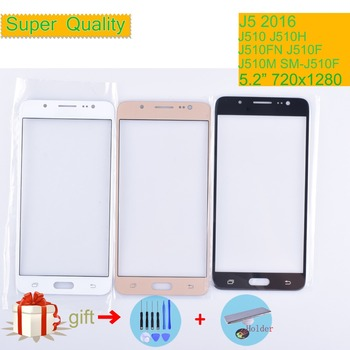 For Samsung Galaxy J5 2016 J510 J510FN J510F J510G J510Y J510M SM-J500F Touch Screen Front Glass Panel TouchScreen LCD Outer image