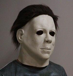 Livraison gratuite déguisement Latex crossdressing Michael Myers masque adulte