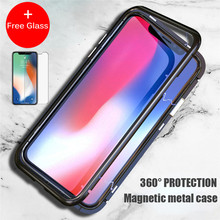 Magnetic phone cases for iPhone X 7 8