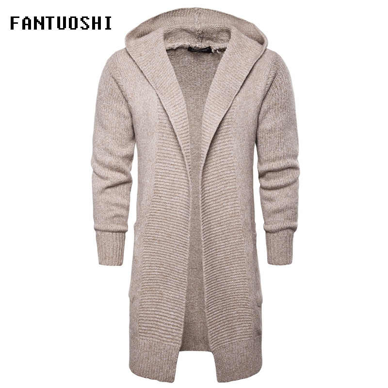 bad66e408dc5 Detail Feedback Questions about 2018 New Fashion Casual Men s Long ...