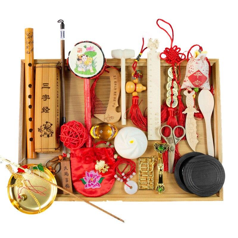 Детские еженедельные принадлежности, в китайском стиле для пожилых людей, с когтеточкой, новые реквизиты, детские игрушки для мужчин и женщ...