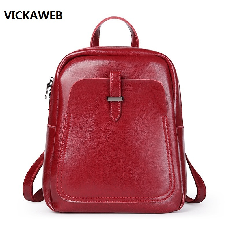 luxury brand women leather backpack waterproof school bags for girls genuine leather bagpack fashion ladies travel bags flying birds fashion student s backpack women leather backpack luxury brand girls school bags women travel bags ladies a403fb