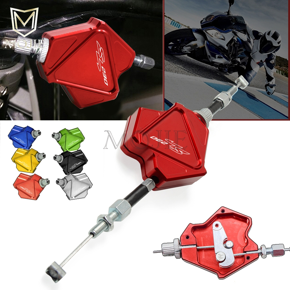 Motorcycle CNC Aluminum Stunt Clutch Lever Easy Pull Cable System For HONDA SL230 SL 230 1997-2004 1998 1999 2000 2001 2002