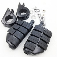 Motorcycle Accessories 1 1 4 Kuryakyn Dually Highway P Clamps Large Foot Pegs For TRIUMPH 3