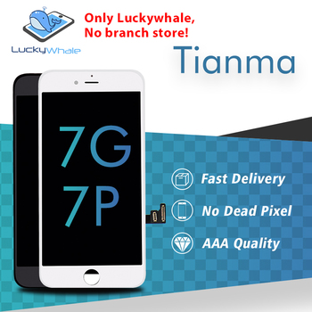Premium TianMa LCD For Iphone 7 7 plus Lcd Screen Display Touch Screen Digitizer Assembly Replacement Free DHL