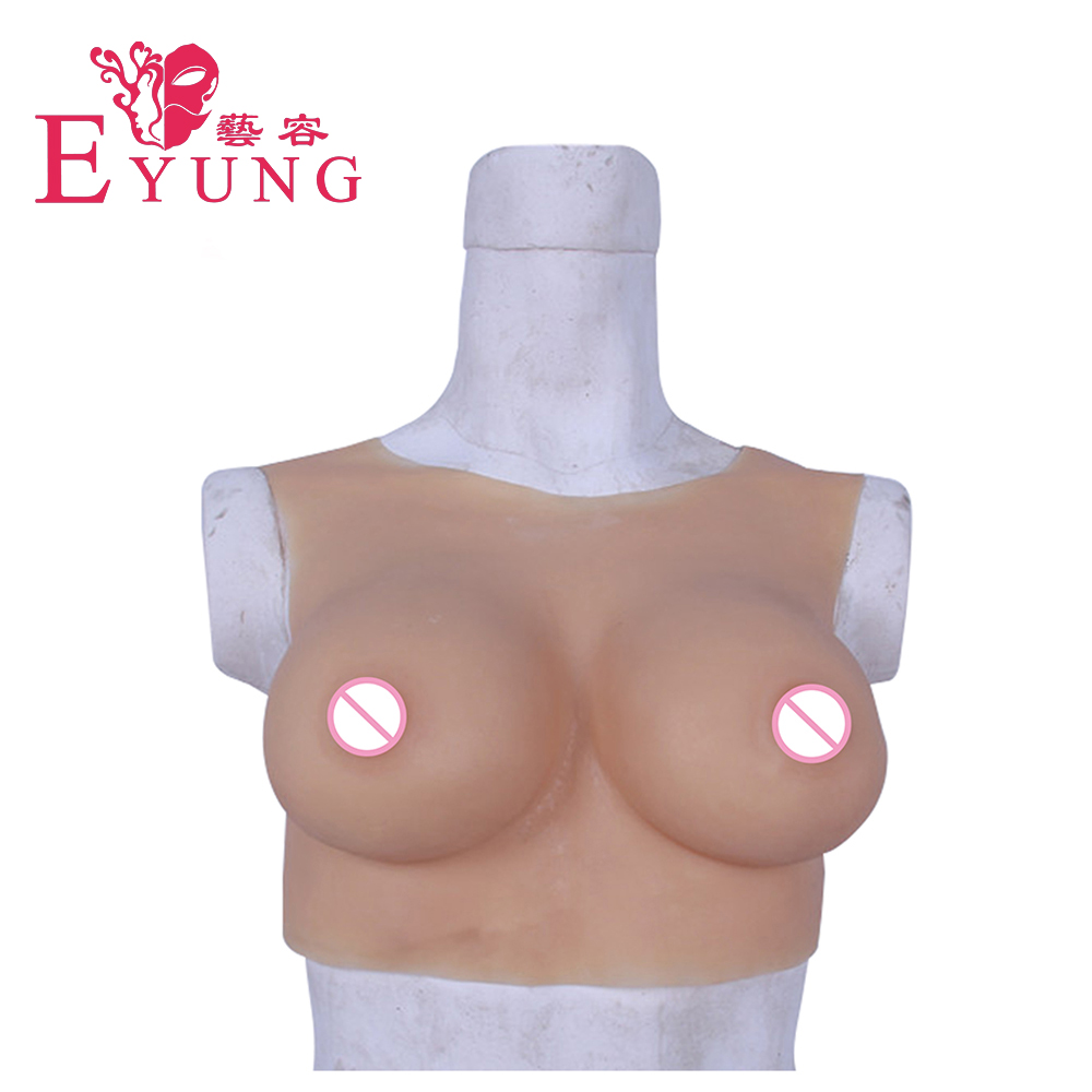 80C Realistic breast form for crossdresser and mastectomy woman Crossdressing Drag Queen Transsexual fake boob Enhancer