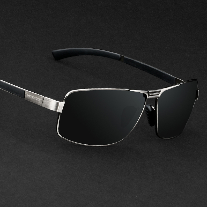 VEITHDIA Brand Men's Sunglasses Polarized Sun Glasses Oculos De Sol Masculino Eyewear Accessories For Men 2490