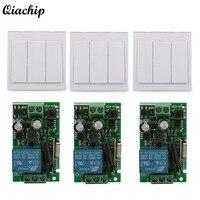 Wall Switch CH Transmitter Module 1 CH Relay Receiver 433MHz RF TX 433MHz RF RX Remote