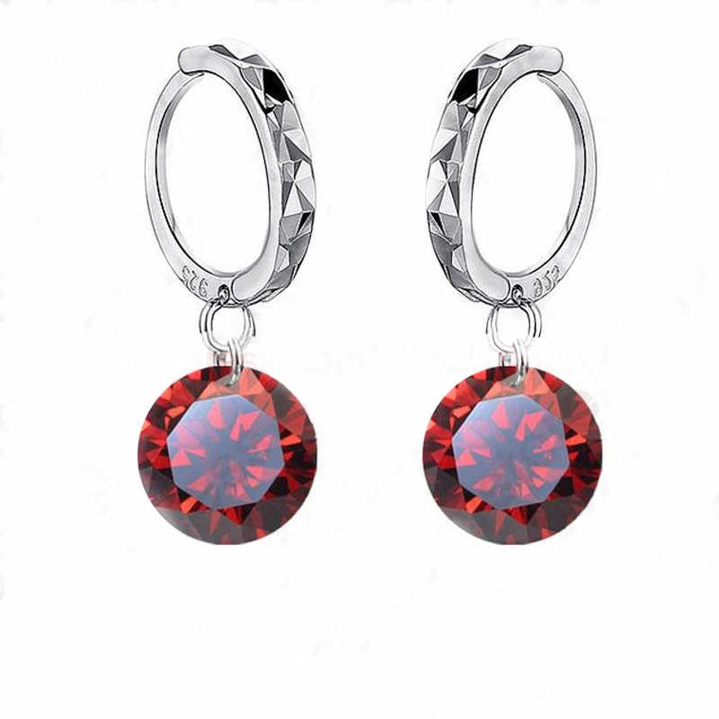 Fashion Accessories Custom Wholesale Fashional Earring For Women 925 Sterling Silver Jewelry Cubic Zirconia CZ Earings