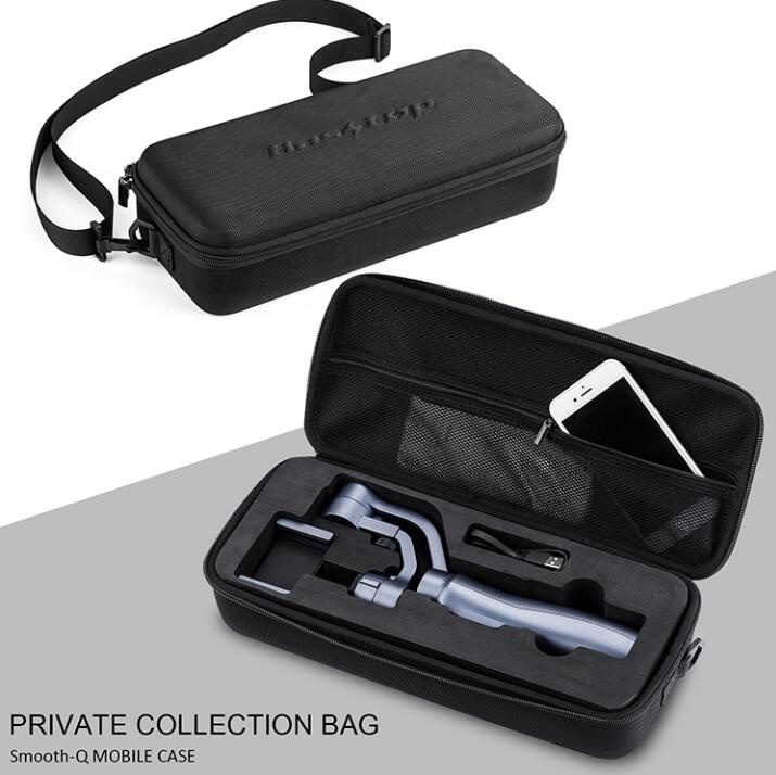 Zhiyun Smooth Q three-axis mobile phone PTZ bag convenient and convenient to carry box bags