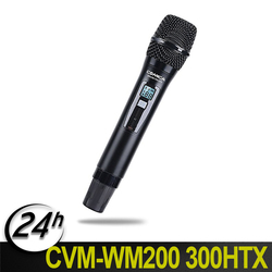 Comica 96-Channel Single Wireless Handheld Transmitter for WM200 Microphone System connect Canon Panasonic Camcorder Camera