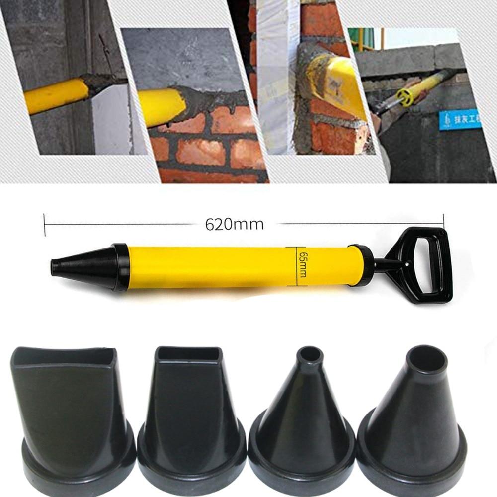 Mortier de ciment pistolet à calfeutrer rond plat bouche anti-vol porte le jointoiement couture machine de remplissage