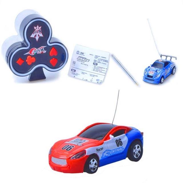 МИНИ-Покер Печати Rc Автомобилей 4CH RC Управления Кокса Автомобиль Дрейф RC Высокой Провести Небольшой Подарок Игрушки для Мальчиков