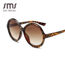 Vintage Round Sunglasses Women Brand Designer Fashion Gradie