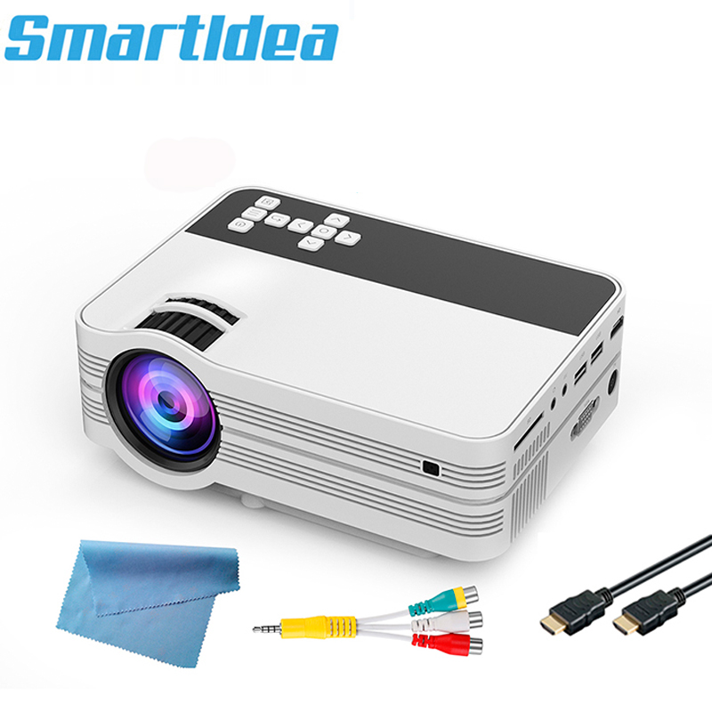 Smartldea UB10 Mini Android 6 0 WiFi HD Home Projector Portable Multimedia LED Proyector with USB