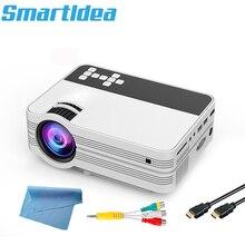 Smartldea UB10 Mini Android 6.0 WiFi projektor domowy HD przenośny multimedialny projektor LED z USB hd-in VGA SD AV Video Beamer