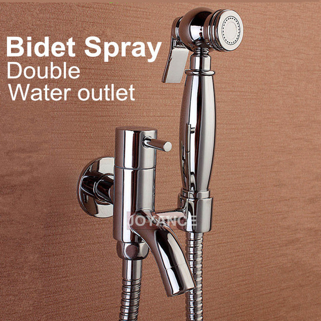 hand held faucet shower attachment. 100 Brass Hand Held Bidet Spray Toilet Faucet High Pressure Shower  Head With 1 5