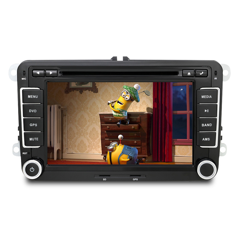double 2 din car stereo dvd player gps bluetooth for. Black Bedroom Furniture Sets. Home Design Ideas