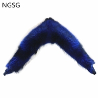 European American women long raccoon fur cape waistcoat oversize large real fur collar Russian winter thick fur shawls custom