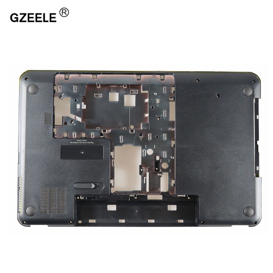Gzeele nova base para hp para pavilion 17.3 inche G7-2000 G7-2030 G7-2025 G7-2226NR portátil inferior caso capa 685072-001 inferior escudo