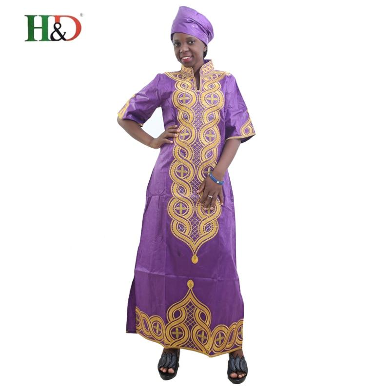 Artı Boyutu kadınlar için afrika giyim afrika Baskı Pamuk uzun - Ulusal Kıyafetler - Fotoğraf 2