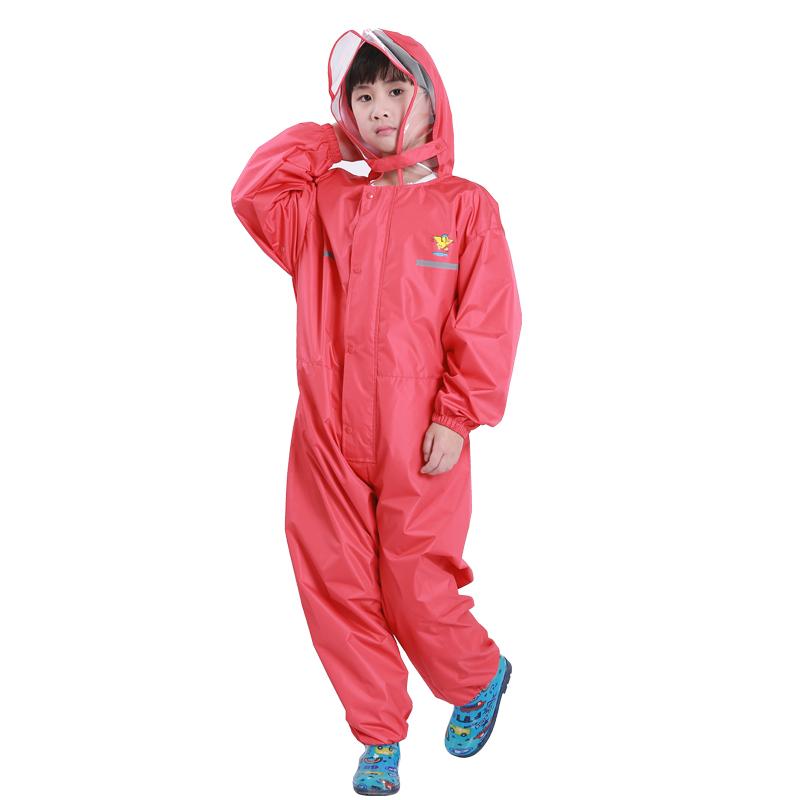 80-155cm waterproof raincoat for children pants Baby Rain Coat Pnocho kids Rainsuit Outdoor boys girl raincoats for children
