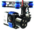 RTF Brushless Gimbal Camera w/ 2208 Motors BGC Controller Board CNC ALU Metal For SJ4000 Black