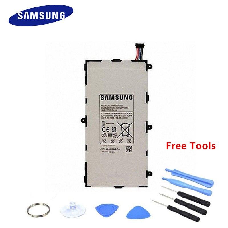 Новый оригинальный Samsung Новый Батарея для Samsung Galaxy Tab 3 7.0 SM-T210 T211 P3200 Батарея 4000 мАч + Инструменты ...