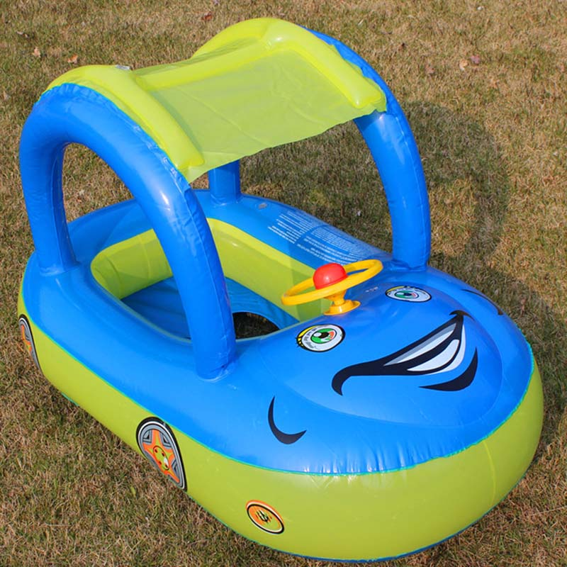 Inflatable Toys For Summer Swimming Ring Floating Car Water Floating Toy Beach Swimming Pool