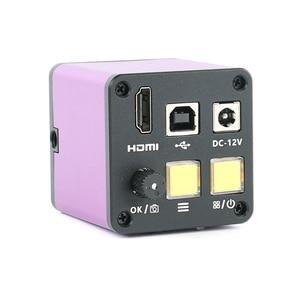 HDMI USB промышленный электронный цифровой C крепление видео микроскоп камера TF карта видео рекордер для ремонт телефона pcb пайки
