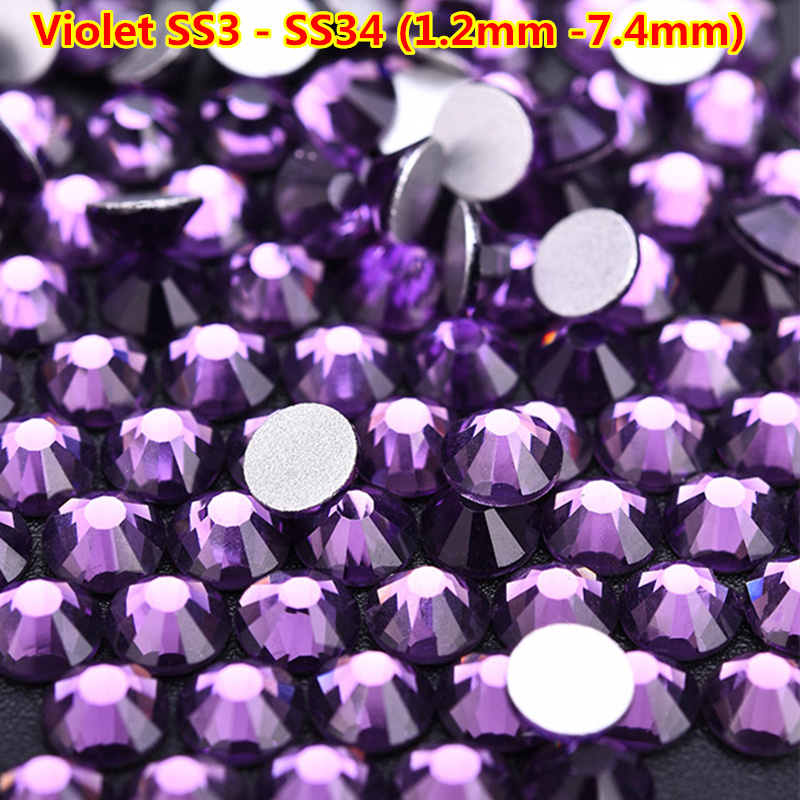 Craft Embellishments Choice of Assorted Shades Pearl Flat Back Gems 4mm x 30