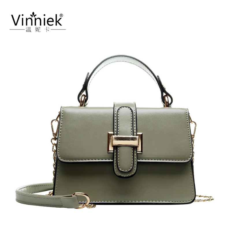 Summer New PU female bags fashion shoulder Messenger bags metal chain small square bag casual wild ladies handbagSummer New PU female bags fashion shoulder Messenger bags metal chain small square bag casual wild ladies handbag