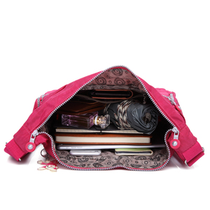 Image 4 - TEGAOTE Luxe Vrouwen Messenger Bag Nylon Schoudertas Dames Bolsa Feminina Waterdichte Reistas vrouwen Crossbody Bag