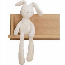 New 52cm Mamas Papas baby rabbit sleeping comfort doll plush toys Smooth Obedient Rabbit Sleep Calm