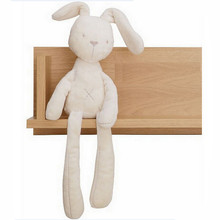 New 52cm Mamas & Papas baby rabbit sleeping comfort doll plush toys Smooth Obedient Rabbit Sleep Calm Doll Hot Sale
