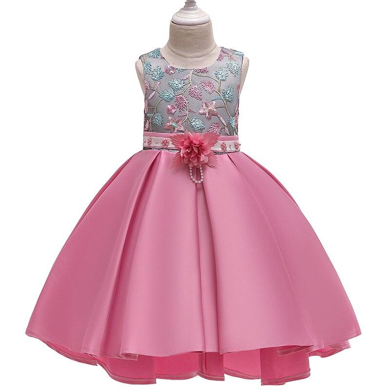 HTB1Iyj4d8Cw3KVjSZFlq6AJkFXaT Girls Dress Christmas Kids Dresses For Girls Party Elegant Princess Dress For Girl Wedding Gown Children Clothing 3 6 8 10 Years