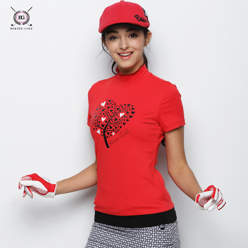2018 Hot Sales BG Golf Womens Short Sleeved T-shirt Ladies Summer Repair Korean Version Anti-Pilling Golf POLO Shirts 2 Colors2018 Hot Sales BG Golf Womens Short Sleeved T-shirt Ladies Summer Repair Korean Version Anti-Pilling Golf POLO Shirts 2 Colors