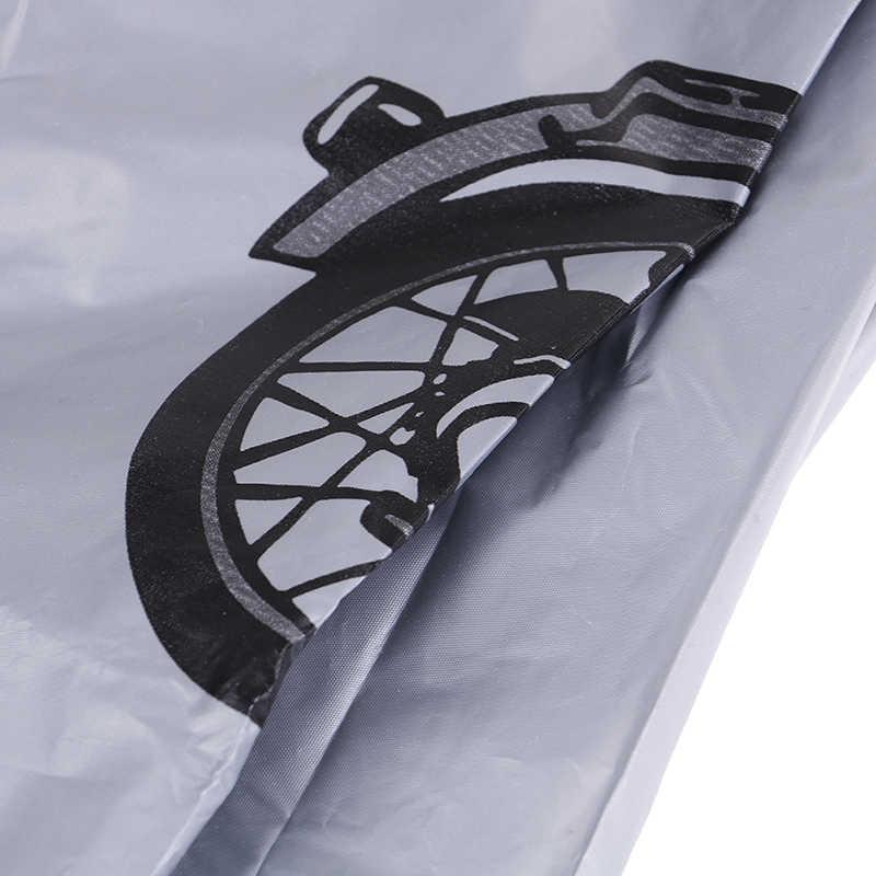 Мотоцикл Дождь пылезащитный чехол водостойкий открытый Ховерборд скутер протектор серый для велосипеда снег пылезащитный чехол велосипед