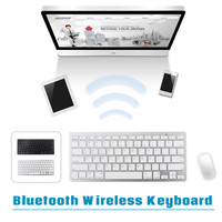 Portable Mini Wireless Keyboard Slim Bluetooth 3 0 Gaming Keyboard Remote Control For Apple IPad IPhone