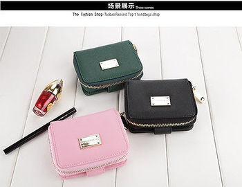Women Lady Fashion PU Leather Zip Wallet Clutch Purse Long Card Holder Clutches